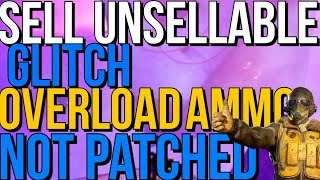 Fallout 76 Sell Unsellable Items + Overload Ammo Glitch After Patch Glitches still Works! June 4th!
