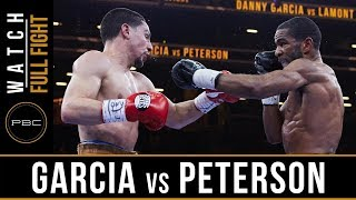 Garcia vs Peterson FULL FIGHT: April 11, 2015 - PBC on NBC