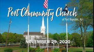 Port Community Church - November 29, 2020