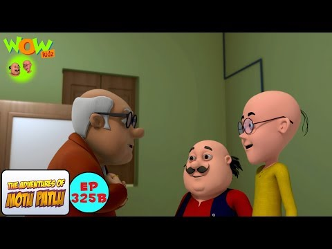 Motu Patlu ki Naukri - Motu Patlu in Hindi - 3D Animation Cartoon - As on Nickelodeon