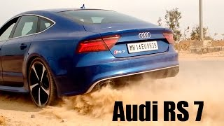 Audi RS7 Sportback in Action! | Car Blog India