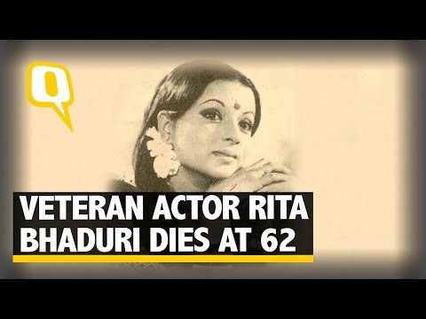 Rita Bhaduri Passes Away at 62. Friends from Industry Mourn| The Quint