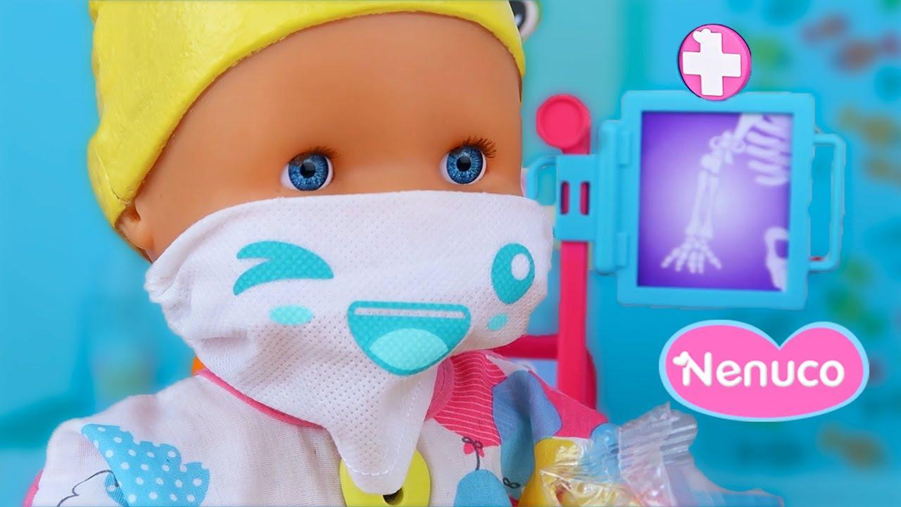 Los Bebés NENUCO Doctores CURA SANA y TEO pasan consulta en el nuevo HOSPITAL