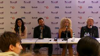 C2C PRESS CONFERENCE Little Big Town