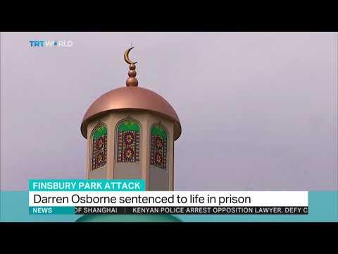 Darren Osborne sentenced to life in prison