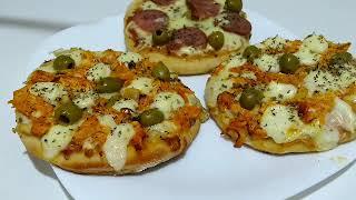 Como fazer Pizza Brotinho com Massa de Batata
