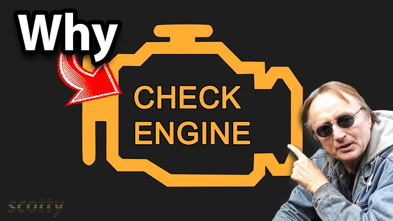 Here's Why Your Check Engine Light Comes On - Cache Prof