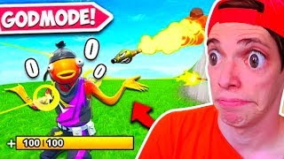 *SUPER OP* 😨CÓMO TENER VIDA INFINITA 🤣 en FORTNITE Battle Royale EPIC FAIL
