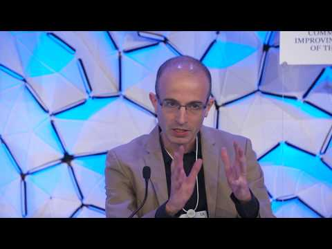 The Evolution of Consciousness - Yuval Noah Harari Panel Discussion at the WEF Annual Meeting