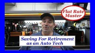 Saving For Retirement as an Auto Tech