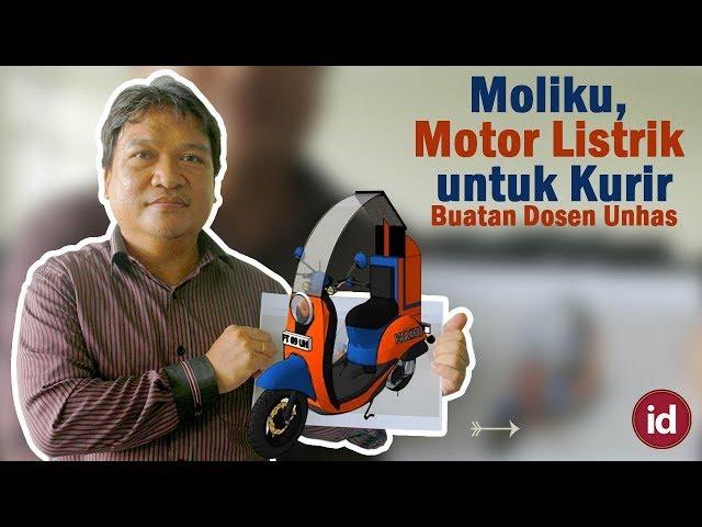 Moliku, Motor Listrik untuk Kurir Online Buatan Dosen Teknik Unhas - Sri Hadriana