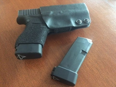 Taran Tactical base plate installation on Glock 43