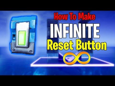 How To Make A INFINITE 1v1 Build RESET BUTTON... | Fortnite Creative | EASY Tutorial