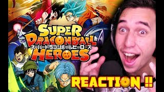 AN INTER-DIMENSIONAL BATTLE!!| Super Dragon Ball Heroes Episode 1 HD REACTION & REVIEW!