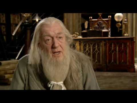 Harry Potter and the Half Blood Prince Interview - Michael Gambon