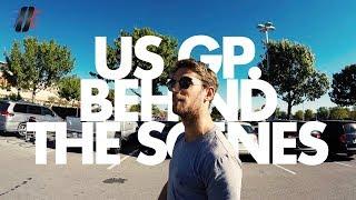 US GP - Romain Grosjean - Behind the scenes