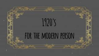 1920s Wear for the Modern Pers…