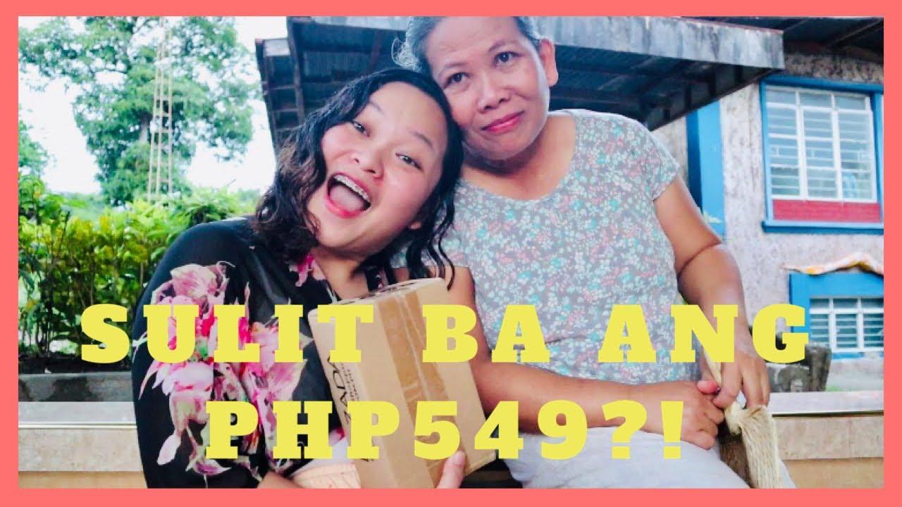 AKALA KO MERONG CELLPHONE!! | MYSTERY BOX CHALLENGE NG LAZADA W/ MY MOMSHIE