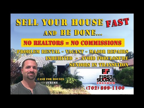 We Buy Houses As-Is, No Contingency - Sell My House Fast Las Vegas, NV - First Source Freedom