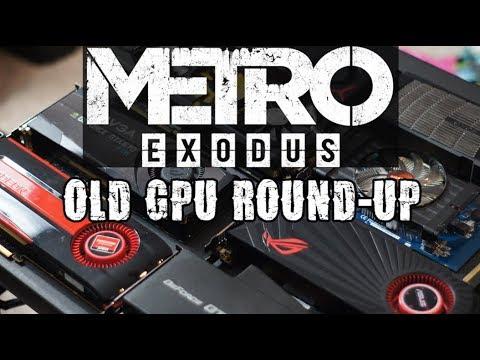 Metro Exodus: Old GPU Round-up (featuring HD 7770 1GB, HD 5870 2GB
