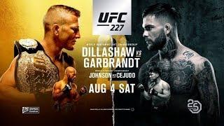 Основной Кадр Турнира UFC 227 Превью и Разбор Предстоящих Боев