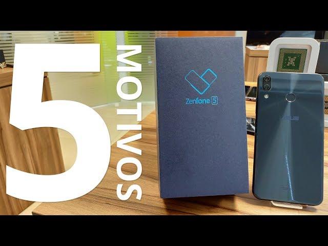 Zenfone 5 - 5 motivos para comprar o smartphone da ASUS