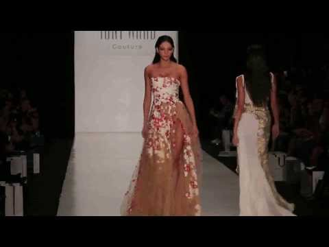 Tony Ward Fashion Show with Miss Universe in Russia