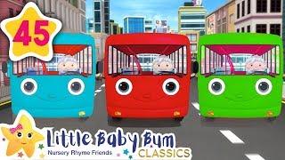 Color Bus   +More Kids Songs   Nursery Rhymes   Little Baby Bum