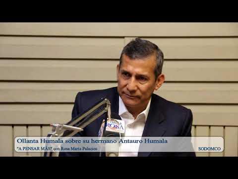 Ollanta Humala sobre su hermano Antauro Humala