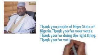 Thank you people of Niger State for voting Alh. Abubakar Sani Bello