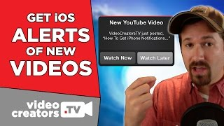 How to Get Mobile Notifications of New YouTube Videos
