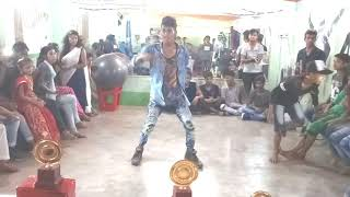 Self Choreography Dance compatition in Islampur // Swag se swagat dance video mix by Abhishek Kumar