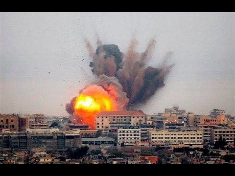 GAZA Conflict Escalates - Israel and Hamas Continue Fight