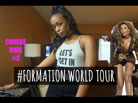 SENIOR College VLOG #3 | BEYONCE FORMATION WORLD TOUR... AGAIN? (Concert Footage)