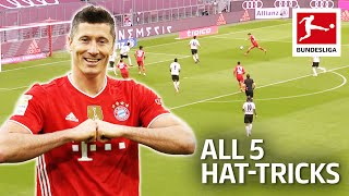 Robert Lewandowski - 39 Goals and Now 5 Hat-tricks 2020/21 so far