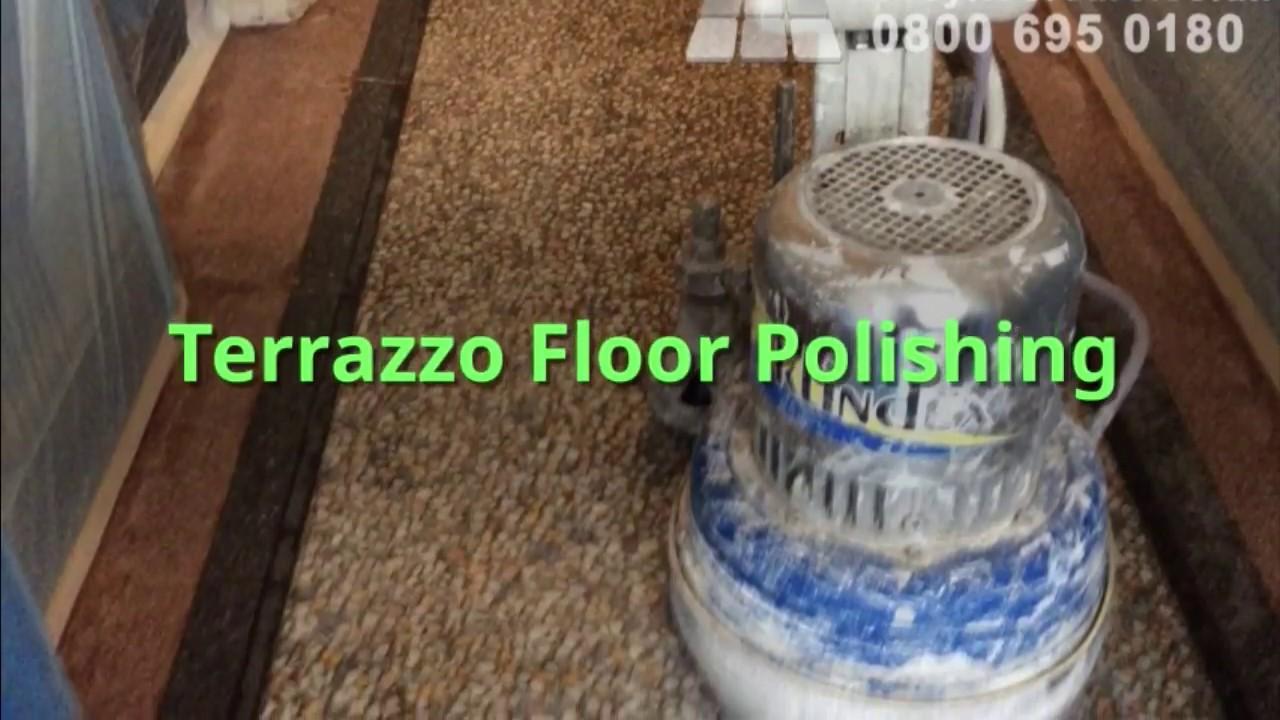 Terrazzo Floor Polishing Northampton Abbey Floor Care YouTube - How to care for terrazzo floors