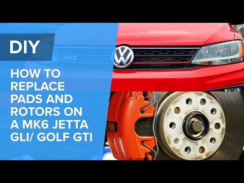 VW & Audi Brake Pads And Rotor Replacement – EASY DIY! (MK6, Beetle, Eos, Golf, GTI, Jetta, Rabbit)