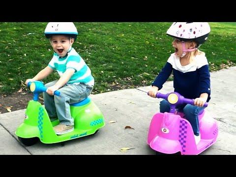 Razor Jr. Mini Mod Ride Video