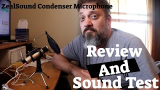 ZealSound Condenser Broadcast Microphone