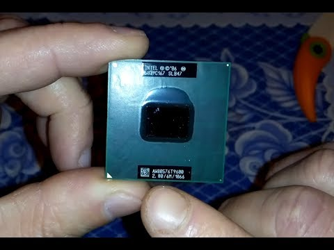 Как поменять термопасту на ноутбуке HP Pavilion dv6 - YouTube