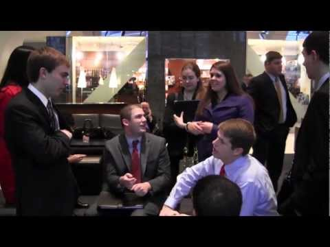 Marquette Finance students in NYC