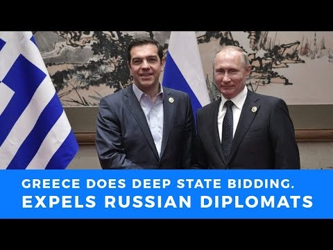 Greece folds to deep state demands, expels Russian diplomats over meddling