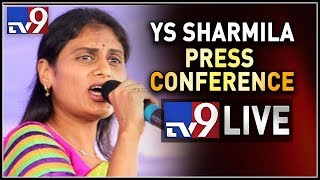 YS Sharmila Press Conference LIVE || Amaravati - TV9