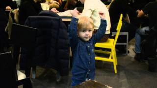Сам себе музыка - Ян танцует в shake shack