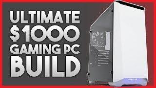 Ultimate $1000 Gaming PC Build - 1440p at 60fps - Ryzen 5 2600/GTX 1070