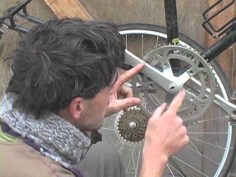 How To Build A Single Speed Bike 6 Single Speed Crankset Youtube