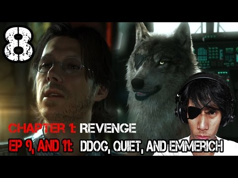 MGS V: TPP   DDog, Quiet, and Emmerich   Part 8   Let's play Walkthrough