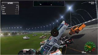 THE QUEST FOR A 40 CAR LOBBY -- NASCAR Heat 2 -- Online Racing thumbnail