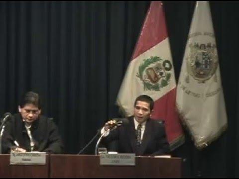 Víctor Samuel Rivera/ Seminario de invierno Universidad Nacional de San Marcos 2006