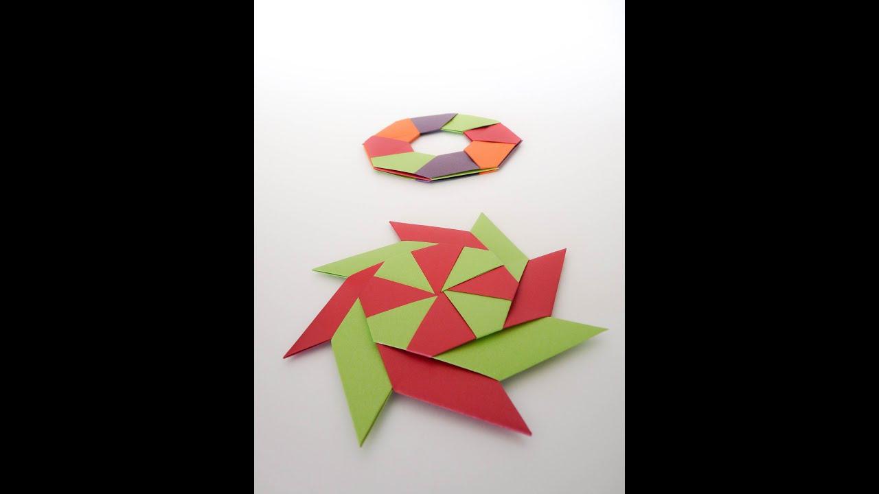 origami que se transforma